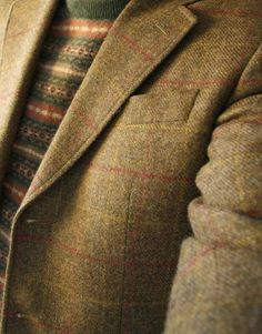 """Tweedland"" The Gentlemen's club: SUNDAY IMAGES / TWEED / TWEED / TWEED."