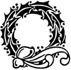 Holly Wreath Rubber Craft Stamp - Rubber Stamps Direct http://www.stampsdirect.co.uk/holly-wreath-rubber-stamp-572-p.asp