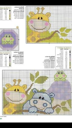 Cross Stitch Charts, Cross Stitch Patterns, C2c, Free Crochet, Beading Patterns, Safari, Free Pattern, Kids Rugs, Tapestry
