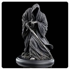 Lord of the Rings Ringwraith Statue @ niftywarehouse.com #NiftyWarehouse #Geek #Fun #Entertainment #Products