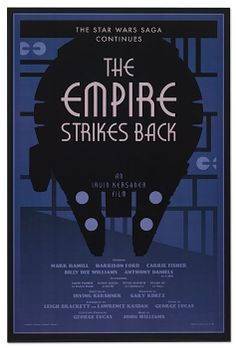 Star Wars the Empire Strikes Back. Love this one.