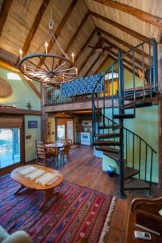 This is a336 sq. ft. renovated Tiny Barn Cabin. Its called the Dry Creek Guest House. Wait until you step inside its beautiful! Please enjoy and re-share below. Thanks! Related: 15 #shedplans Best Tiny House, Modern Tiny House, Tiny House Living, Tiny House Design, Home Design Plans, Home Interior Design, Plan Design, Bedroom Designs For Couples, Casa Hotel