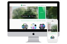 Check out AppName - App Website HTML Template by Egor Fedorov on Creative Market