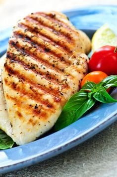 For every lb you weigh, you should eat 1 g. of protein (if you are looking to tone up and get lean).  See how many grams of protein are in our meats to help you stay on track!!