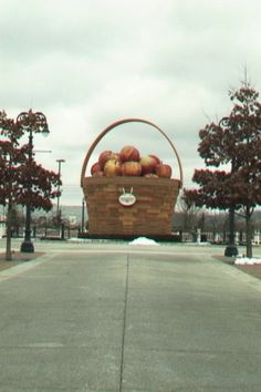 World's Largest Apple Basket