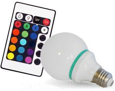 I just plain want this. I want to understand how it works and I want the remote to come with a timer so that I can use it as an alarm clock. REMOTE CONTROL COLOR CHANGING LIGHT BULB