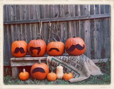pumpkin staches