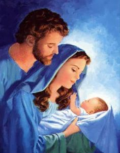 Peaceful as Israeli Blue, Jesus, Mary, and St. Blessed Mother Mary, Blessed Virgin Mary, Christmas Jesus, Christmas Nativity, Christian Images, Christian Art, Mary And Jesus, Holy Mary, Madonna And Child