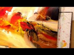 THE DANCE OF THE FAIRIES, painting by Dan Bunea, living abstract paintings, www.danbunea.ro - YouTube