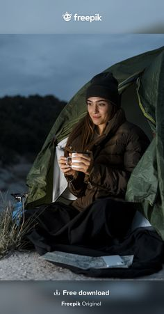 Women Camping, Travel And Tourism, Free Photos, Stock Photos, Night, Collection