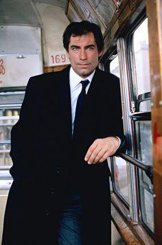Timothy Dalton as James Bond 007.