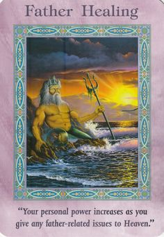Father Healing Card Extended Description - Mermaids and Dolphins Oracle Cards by Doreen Virtue Angel Readings, Free Angel, Angel Guide, Angel Prayers, Doreen Virtue, Spiritual Messages, Angel Cards, The Victim, Victim Mentality
