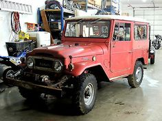 Toyota : Land Cruiser FJ40L 1003 68 FJ40 All Original BARN FIND Clean NOTHING Rusted Thru PTO WINCH Orig Paint+ - http://www.usabarnfinds.com/archives/5876