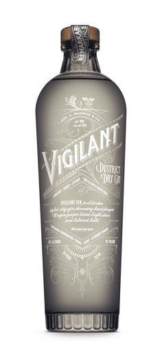 Vigilant Gin, design by 32 North