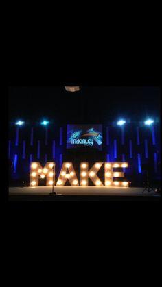 Think joy instead of make.