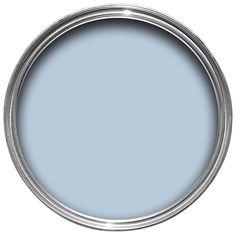 Dulux Blissful Blue Silk Emulsion Paint 2.5L | Departments | DIY at B&Q