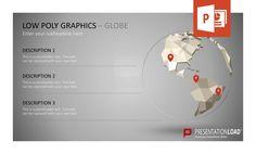 Entdecken Sie die Vielfalt von Low Poly Grafiken: Ob Weltkugel, Berge, Raketen, Sterne oder abstrakter Hintergrund – mit diesen PowerPoint-Vorlagen versetzen Sie Ihre schärfsten Kritiker in Staunen. @ http://www.presentationload.de/low-poly-grafiken.html