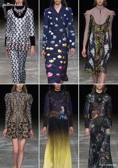 Mary Katrantzou – Fall 2017 – RTW – London Fashion Week – Print & Pattern Highlight   Patternbank