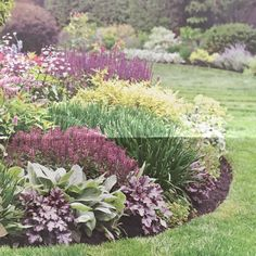 Kim Visokey garden in April 2015 Issue of BHG | soft curved landscaping ideas
