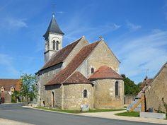 Église Saint-Martin de Vic, Nohant-Vic. Centre