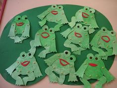 Découpage grenouille Creations, Alysse, Images, Document, Frogs, Place, Character, Albums, Imagination
