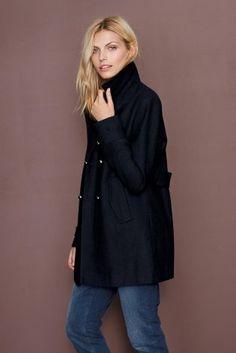 Buy Grey Tweed Waterfall Coat from the Next UK online shop ...
