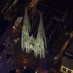 @stpatrickscathedral on @flynyon  What are you waiting for? The Ultimate Photo Experience! #NYonAir www.flynyon.com photo by @jsovs #flynyon