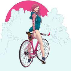 CURITIBA CYCLE CHIC: Alley