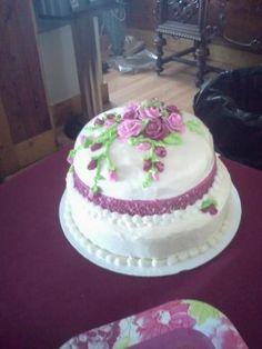 Bridal Shower cake for Amanda and Christopher.