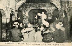 """#Montmartre vers #1925. Le #cabaret du Néant : """"Les spectres tristes""""."""