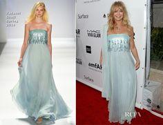 Goldie Hawn In Tadashi Shoji – 2013 amfAR Inspiration Gala Los Angeles