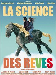 La Science des rêves : affiche Charlotte Gainsbourg, Gael García Bernal, Michel Gondry