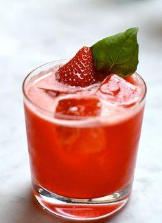 ... dashes rhubarb bitters soda water Garnish: basil leaf Glassware: rocks