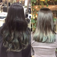 7 inches cut off with textured layers before and after