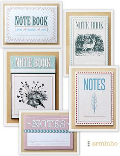 I'm so much about taking notes that I named the company after it! http://www.nightingalesnotes.com/