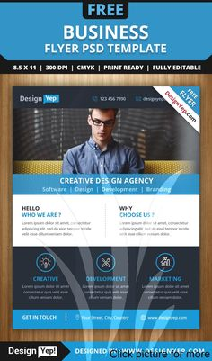 Business Flyers Template Free Best Of Free Business Flyer Psd Template 6666 Designyep