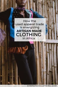 Artisanship arises in surprising ways; this Ghanaian photographer/stylist focuses his lens on upcycled fashion crafted from cast-offs. Read more on our blog. Photo credits: Sackitey… Made Clothing, Ethical Clothing, Ethical Fashion, Sustainable Clothing, Sustainable Design, Sustainable Living, Fast Fashion, Slow Fashion, Being Used