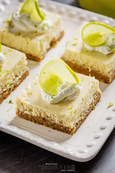 Confessions of a Foodie: Key Lime Pie Bars in honor of Alex's Lemonade Stand