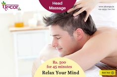 Experience the rejuvenating head massage at Alcor Spa which not only soothes you but refreshes your mind and fosters healthy hair growth.  #AlcorSpa #PamperYourself #HeadMassage #HairGrowth #Relaxation  Call at 9555710710 or visit our website http://alcorspa.in/book-appointment/ to book an appointment!