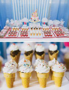 super cute ice cream cone cupcakes