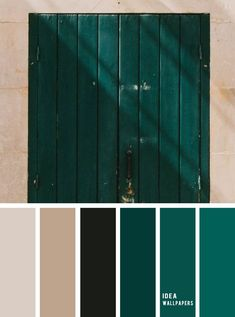 Color inspiration : Sand + black + emerald green Color inspiration : Sand + black + e Green Color Pallete, Green Color Schemes, Interior Color Schemes, Living Room Color Schemes, Color Palettes, Emerald Green Bedrooms, Green Bedroom Colors, Emerald Green Decor, Emerald Colour