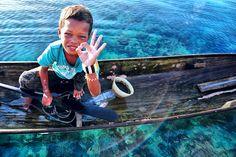 Sea Gypsy Boy - Semporna, Sabah, Malaysia