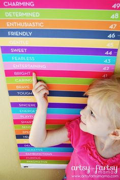 Find creative craft tutorials, simple recipes, printables and more at Artsy-Fartsy Mama Diy For Kids, Cool Kids, Crafts For Kids, Crafty Games, Diy Kids Furniture, Personalized Growth Chart, Vinyl Quotes, Playroom Design, Tough Love