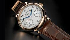 The new A. Lange & Söhne 1815 Up Down - Monochrome Watches High End Watches, Fine Watches, Watches For Men, Men's Watches, Dress Watches, Bracelet Nato, Bracelet Cuir, Ferdinand, Rolex