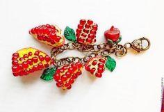 Купить брелок Гранатовый красный -. dgyga@mail.ru телефон 89181726241
