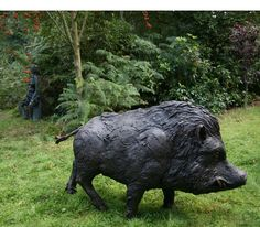 Warthog by David Cooke In Sculpture in the Park  1000's of Sculptures for Sale at the worlds most eclectic Sculpture Exhibition: Animal Sculptures, Bronze Sculptures, Contemporary Sculptures, Abstract Sculptures, Metal Sculptures