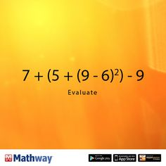 Can you evaluate this math problem? Once you've solved it, head over to our website to check your answer!