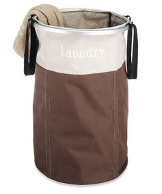 Love this Java Easy Care Laundry Hamper by Whitmor on #zulily, $14 !!  #zulilyfinds