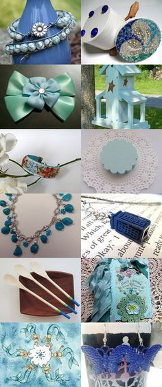 Tagging with Blue by Randy and Lynn on Etsy--Pinned with TreasuryPin.com