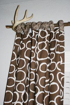 Project Nursery - Woodlands Boy Nursery Curtains